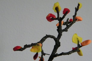 Autumn Clay Tree tutorial