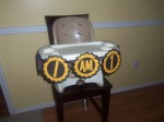 Construction Highchair Birthday Banner